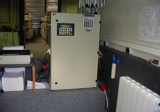 Les contrôles d'un radiateur Ultratherm