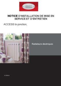 Notice technique ultratherm access 2020